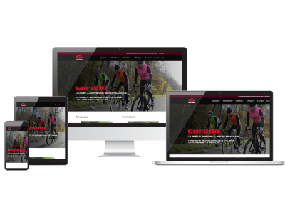 Site ecommerce Garuda Sports